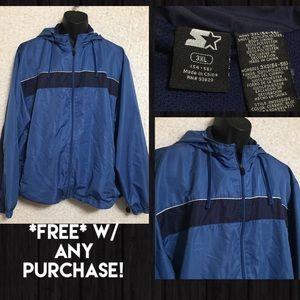 *FREE* w/ Any $8+ Purchase! Starter Jacket Sz 3X